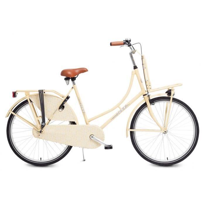 Vélo Fille Zonix City Light 26 Pouces Frein à Rétropédalage Crème 85% Assemblé