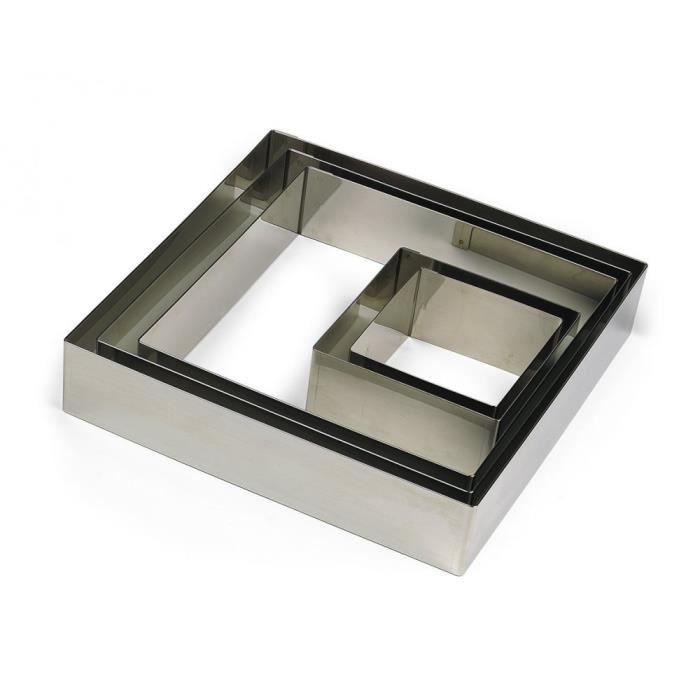 Gobel 863370 Nonnette-Emporte-Pièce Forme Carré Inox 24 cm