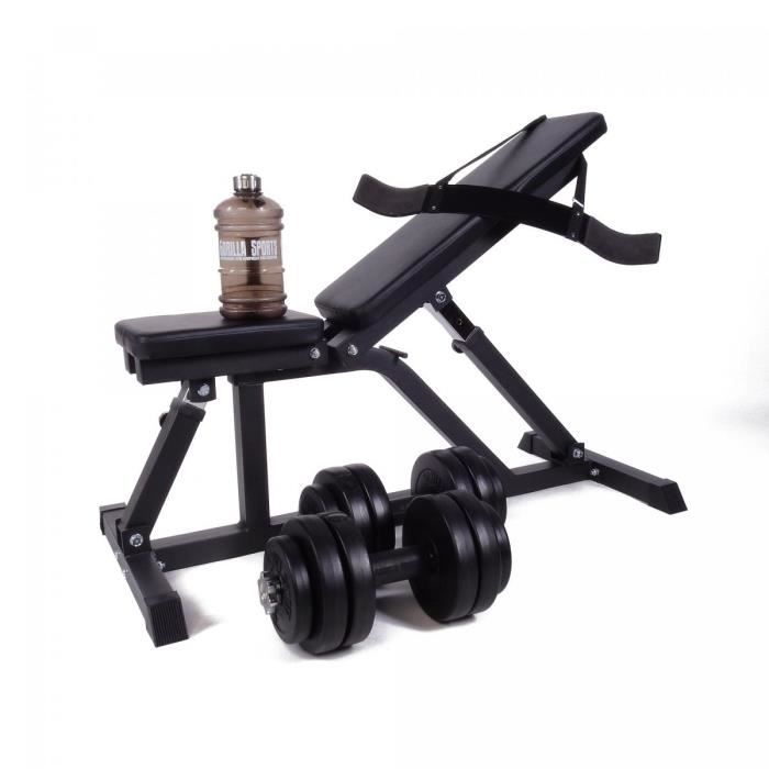 Ensemble de musculation pour biceps/triceps - 23 éléments
