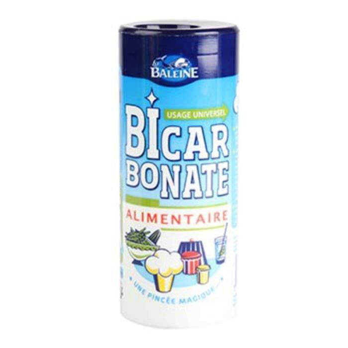 LA BALEINE Bicarbonate alimentaire - Boite 400 g