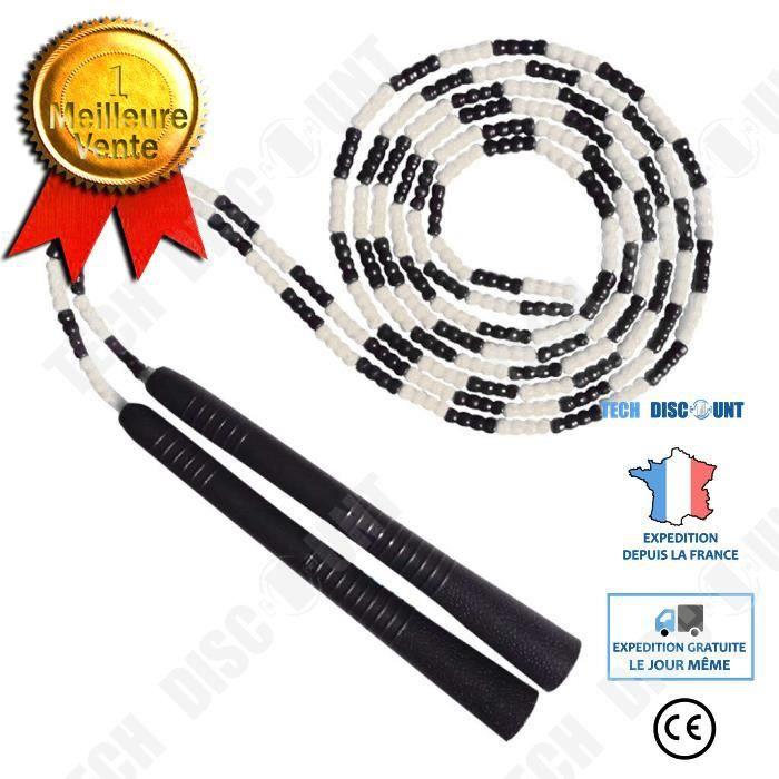 TD® Patron Sauter Interactif Corde Collective Longue Corde Sports Étudiants Sauter Enfants Bambou Sauter Multijoueur Couleur Corde N