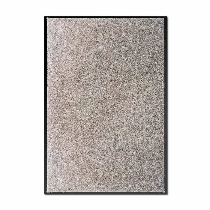 ben tapis d 39 entr e paillasson 60x90cm gris clair gris clair achat vente tapis cdiscount. Black Bedroom Furniture Sets. Home Design Ideas