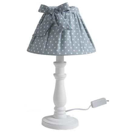 lampe de chevet shabby chic 40cm achat vente lampe de chevet shabby chic cdiscount. Black Bedroom Furniture Sets. Home Design Ideas