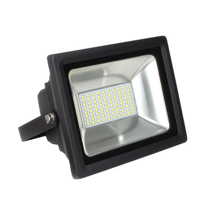 projecteur led 80w blanc froid