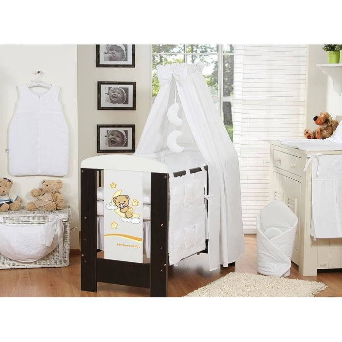 ciel de lit blanc fl che support achat vente ciel de lit b b ciel de lit blanc fl che. Black Bedroom Furniture Sets. Home Design Ideas