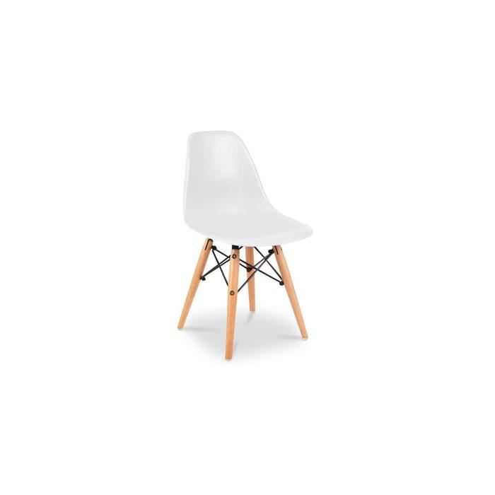 Chaise enfant dsw style charles eames polypropyl ne for Chaise eames pour enfant