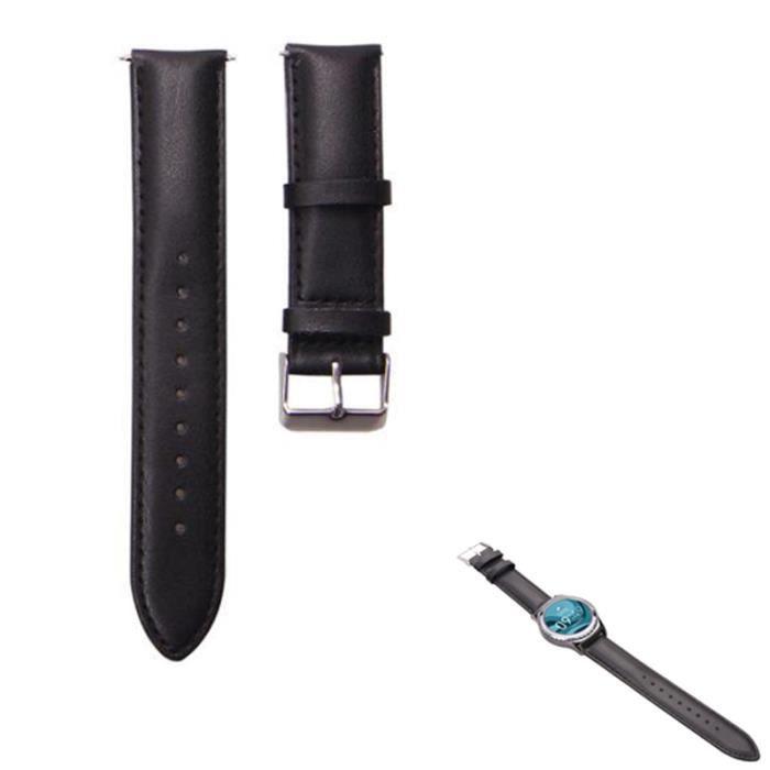 bracelet cuir montre gear s2