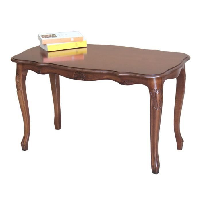 Table basse rectangulaire en bois achat vente table for Table basse rectangulaire bois