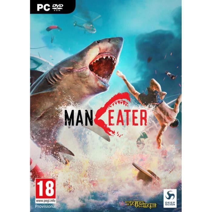 JEU PC Maneater Day One Edition Jeu PC