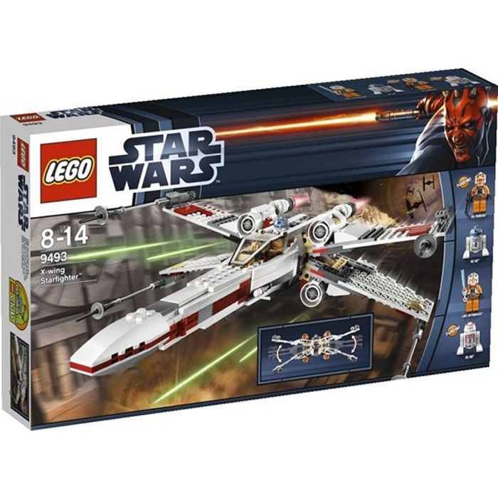 ASSEMBLAGE CONSTRUCTION Lego Star Wars? - X-Wing Starfighter