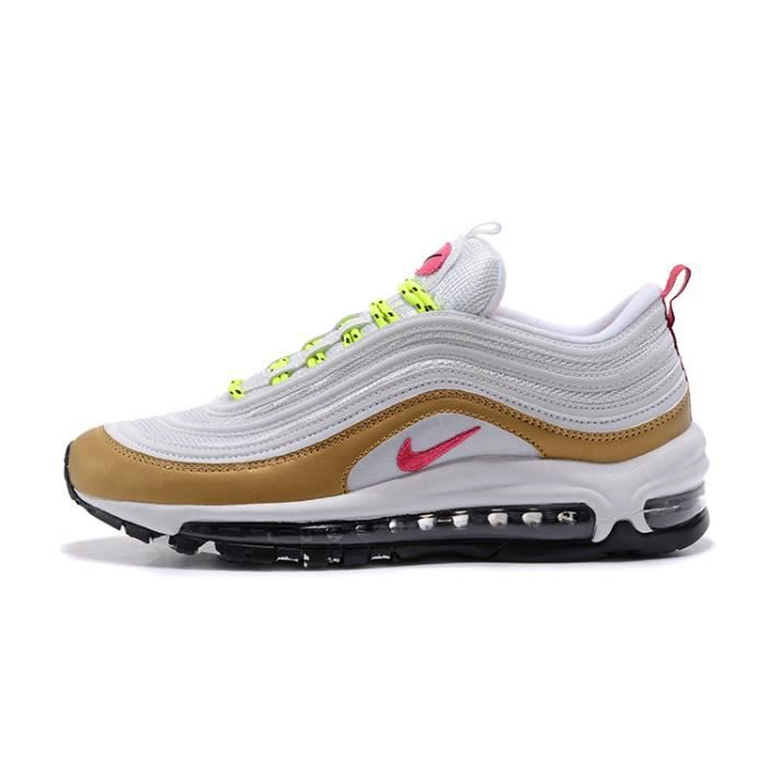 Nike Air Max 97 OG Femme Chaussure De Running or Blanc OR