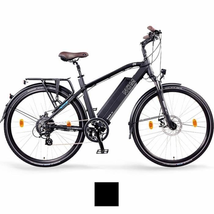"""URSUS Vélo partie centrale Support Réglable 24-29/"""" pouces E bike Pedelec noir"""