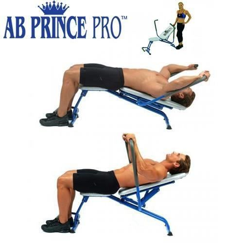 ab prince pro appareil de musculation fitness achat. Black Bedroom Furniture Sets. Home Design Ideas