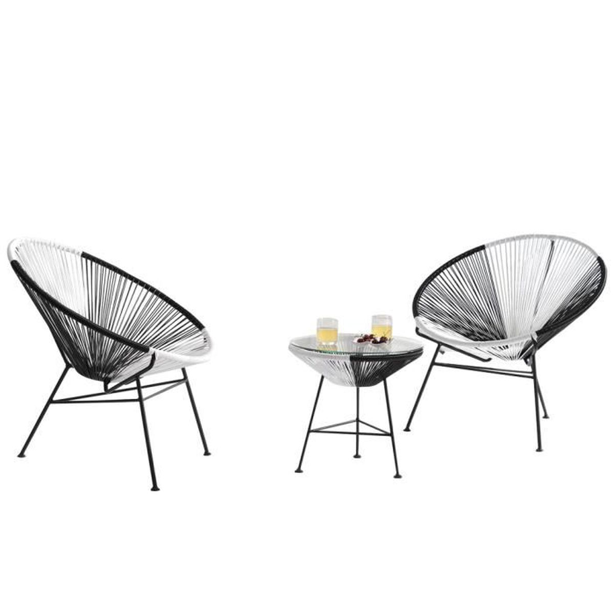 fauteuil rond jardin achat vente pas cher. Black Bedroom Furniture Sets. Home Design Ideas