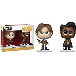 FIGURINE - PERSONNAGE 2 Figurines Funko Vynl Star Wars: Han Solo et Land