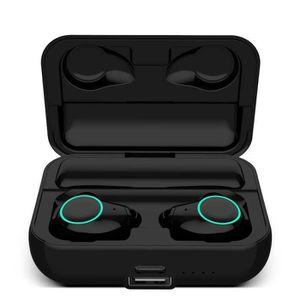 CASQUE - ÉCOUTEURS Arbily Écouteur Bluetooth TWS-i19 Écouteurs sans F