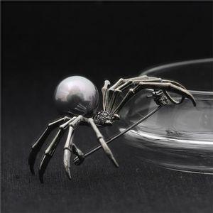 Femmes Grosse Araignée Broche Cristal Insecte Animal Broche Pin Vêtements Bijoux