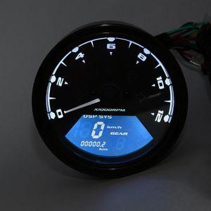 COMPTEUR ZSY60511061 Tachymètre numérique LCD Compteur de v