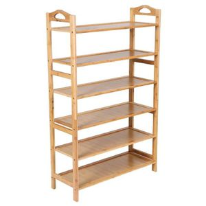 etagere en bambou achat vente etagere en bambou pas cher cdiscount. Black Bedroom Furniture Sets. Home Design Ideas