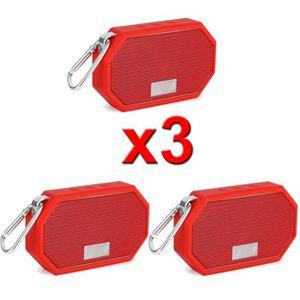 ENCEINTE NOMADE lot de 3 Enceinte Bluetooth  haut-parleurs portabl