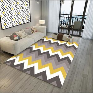 TAPIS Tapis Salon Design Moderne Asiatique Antiderapant