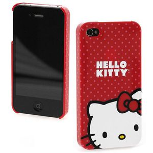 HOUSSE-COQUE TELEPHONE Coque Iphone 4 et 4 S Hello Kitty rouge