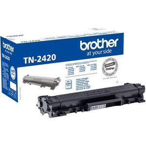 CARTOUCHE IMPRIMANTE BROTHER Toner noir haute capacité TN2420 - 3 000 p