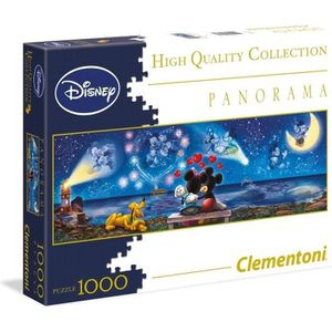 PUZZLE MICKEY ET MINNIE Puzzle Panorama 1000 Pièces