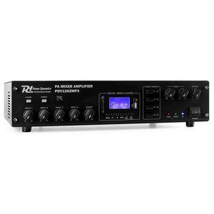 AMPLI PUISSANCE Power Dynamics PDV120ZMP3 Amplificateur 4 canaux s