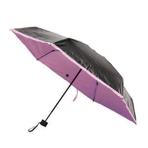 Super mini parapluie de poche/iX-brella dans un /étui Rose Rose fluo 18,5 cm