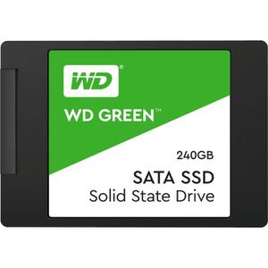 DISQUE DUR INTERNE WD Disque dur Green™ SSD - Format 2.5/7mm - 240 Go