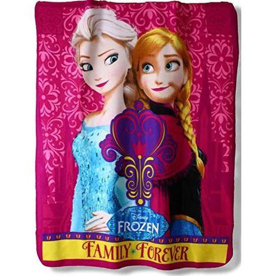 Disney Frozen Anna Elsa /& Olaf Polar Couverture Polaire//Throw Nouveauté pour enfants