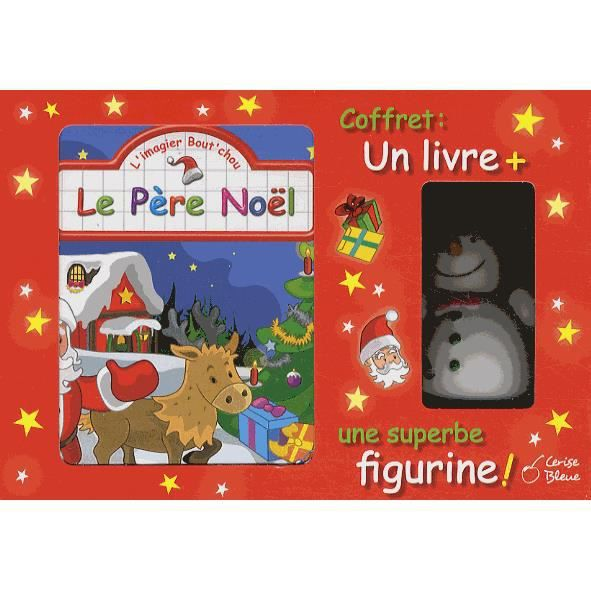 LIVRE 0-3 ANS ÉVEIL Coffret Le père Noël