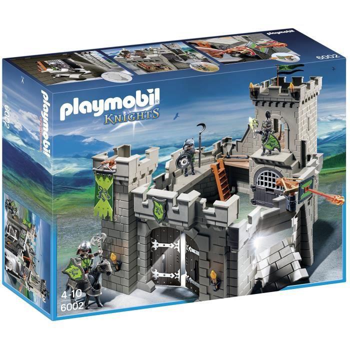 Jeu D'Assemblage ZKBII Playmobil Loup château des chevaliers Playset Kit de construction