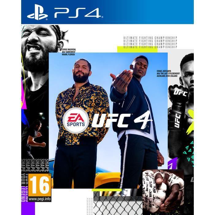 UFC 4 PS4 Game
