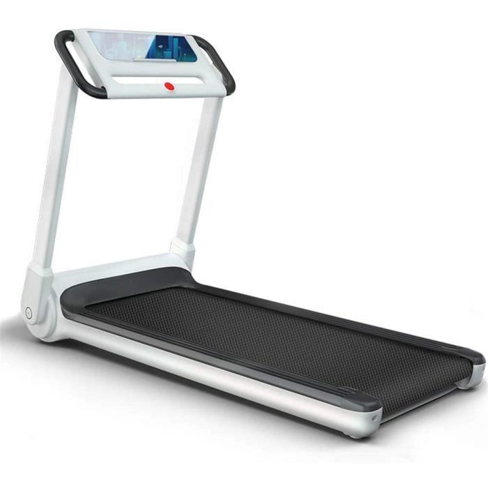 TAPIS DE COURSE &Eacutecran LCD Tapis de Course Electrique Pliable Ultra Mince Et Silencieux Tapis Roulant Sport Fitness Tapis 400