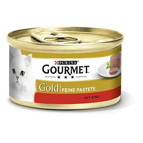 Gourmet Gold Fine Haut de Gamme tourte Chat Nourriture Humide 12176192