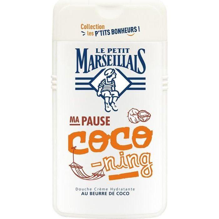 LE PETIT MARSEILLAIS Douche crème hydratante au beurre de coco - 250 ml