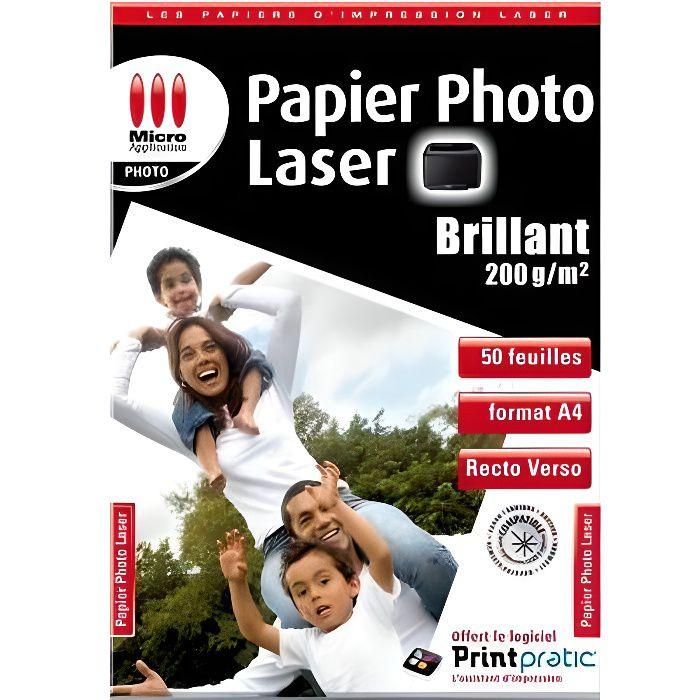 Papier Photo laser 200g-M2 - 50 feuille