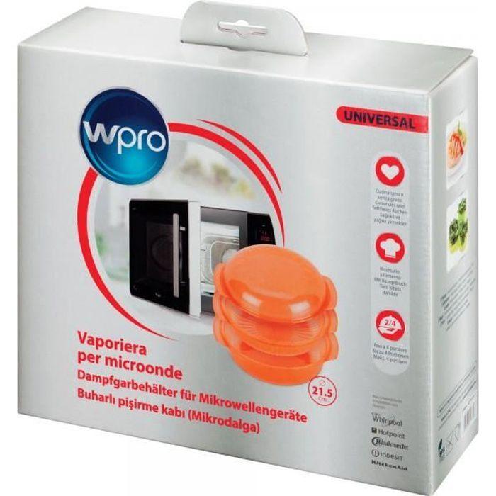 STM006 - Plat vapeur pour micro-ondes WPRO 482000006222