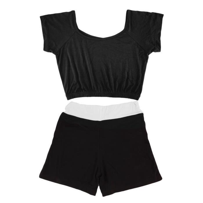Été Femmes Yoga Vêtements Respirant Femmes Court Gym Trainning Vêtements Confortable Athlétique Costume Yoga Costume