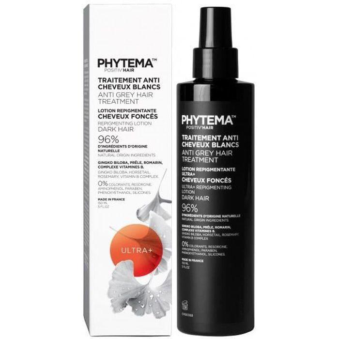 Phytema- traitement anti cheveux-blancs formule ultra plus+