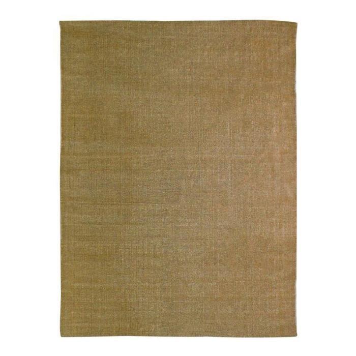 Tapis DUNES coton 190x290 beige naturel