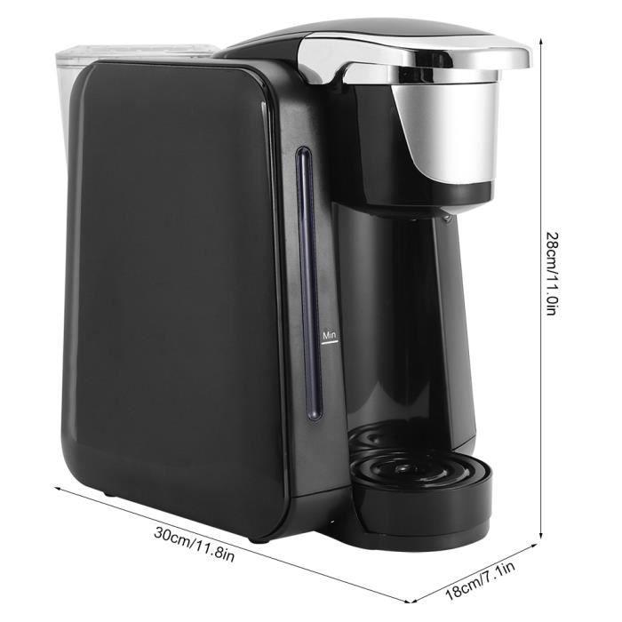 VGEBY Mini machine à café à capsules portable cafetière électrique 48 oz pour une utilisation à domicile HB010 HB702 Bon Matériel