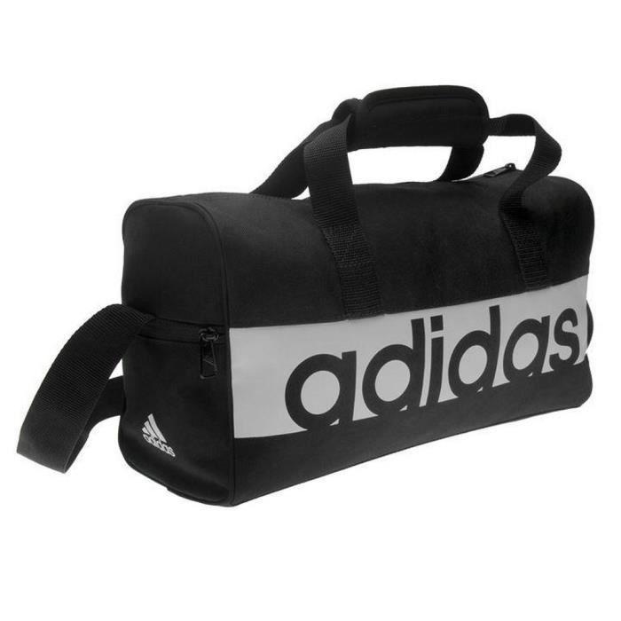 Sac de Sport Adidas Femme LTB Noir et Blanc XS
