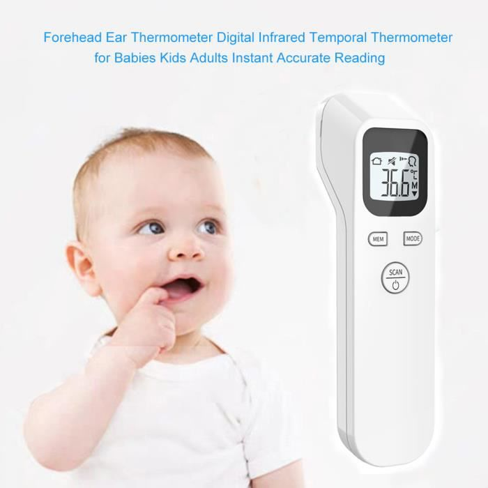 IR Infrarouge Thermomètre Numérique Non-Contact Front bébé//adulte 2z