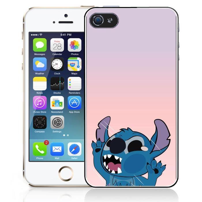 Coque iPhone 5C Stitch Vitre