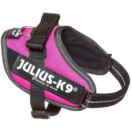 Julius-K9 IDC-Power Harnais pour Chien Rose Fuchsia Fonc/é Taille 2