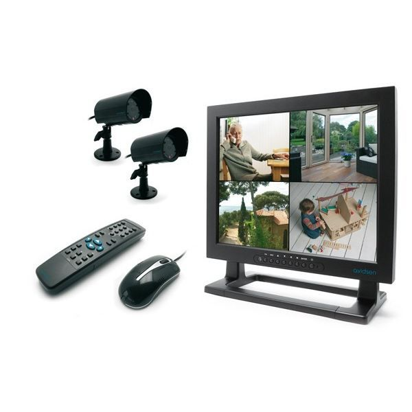 kit de video surveillance avec enregistreur achat vente cam ra de surveillance cdiscount. Black Bedroom Furniture Sets. Home Design Ideas
