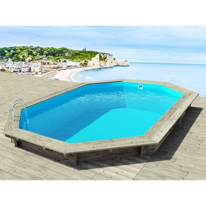 Piscine bois 7x3 5 for Piscine 7x3